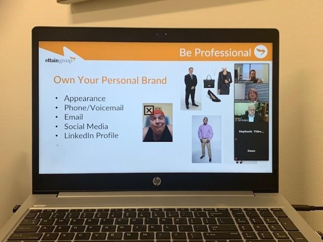 Marketing Yourself in a Virtual World webinar